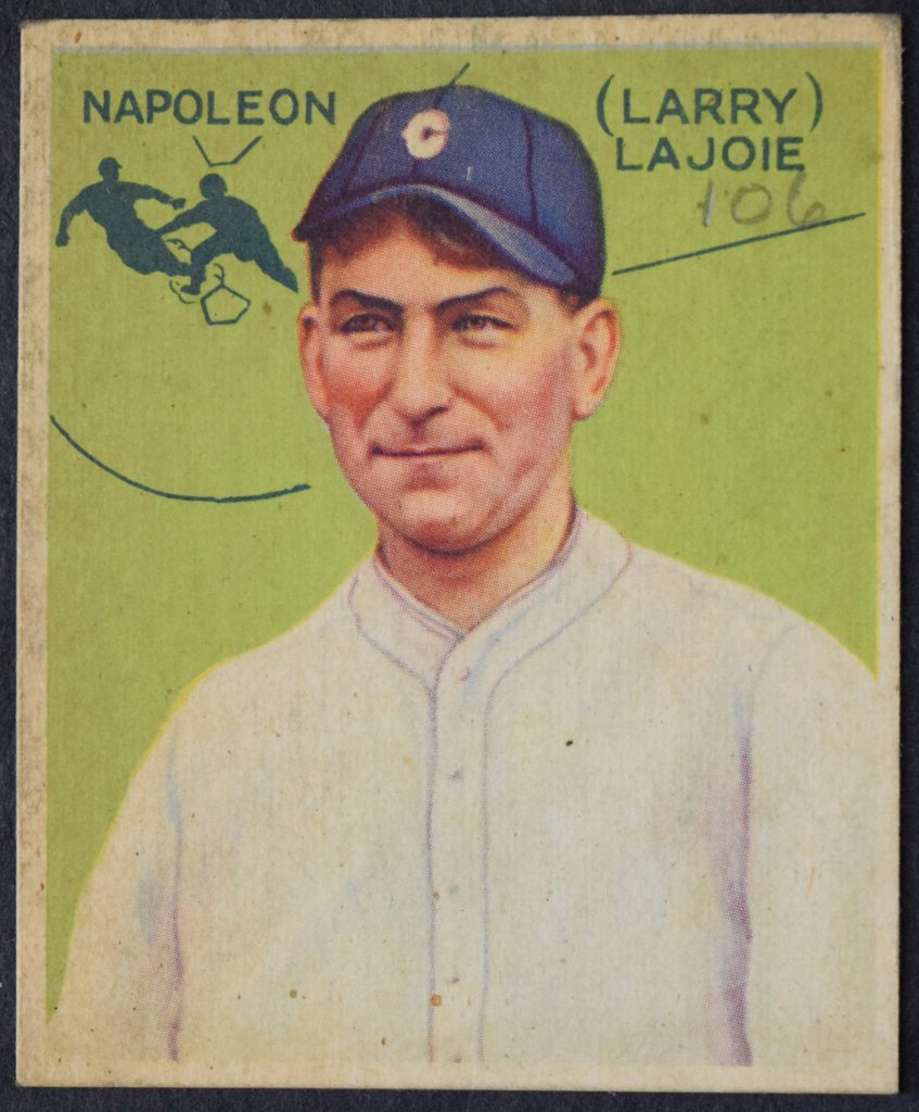 Nap Lajoie 1933 Goudey 106