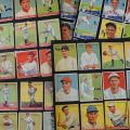 Old baseball cards 1930s collage