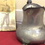 190i0 Ed Delahanty silver pitcher