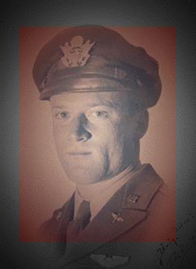 John Bauder Jr. during his military service years during World War II.