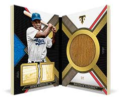 2016 Topps Triple Threads Jackie Robinson bat knob