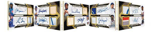 Deca Threads Autographs 2016 Topps Triple Threads Baseball Cards
