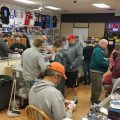 sports card shop trade night
