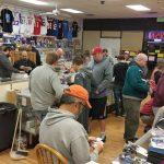 sports card shop trade night
