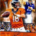 Peyton Manning autographs