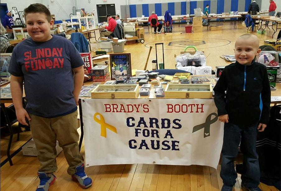 Brady Kahle (L) and Landen Palatino.