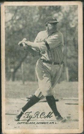 1921 Ty Cobb Exhibit