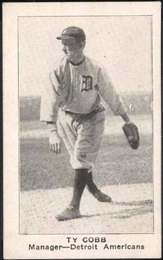 E121 Ty Cobb