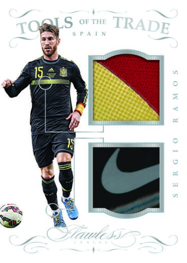 Tools of the Trade 2016 Flawless soccer card Ramos