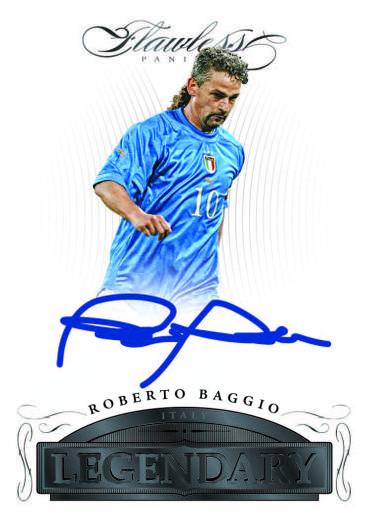 Roberto Baggio autograph 2016 Flawless soccer