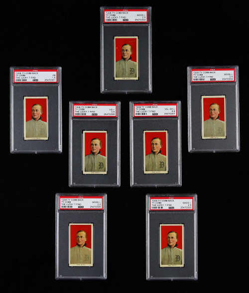 Valuable Ty Cobb cards found Lucky 7 Find