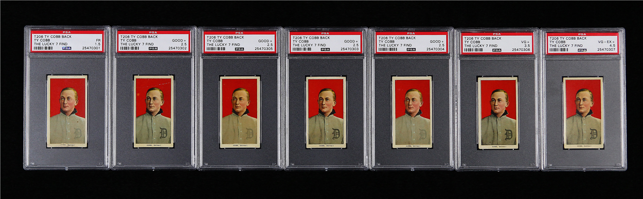 Ty Cobb tobacco cards