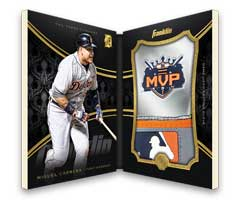 Miguel Cabrera 2016 Topps Mint Batting Glove book card