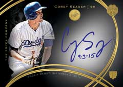 2016 Topps Mint Corey Seager autograph