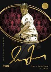 Golden Engravings 2016 Topps Mint Greg Maddux autograph card