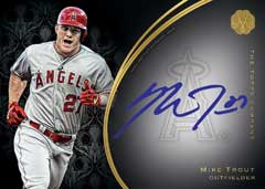 2016 Topps Mint Franchise auto Mike Trout