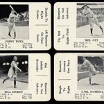 S&S Game Cards 1936