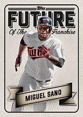 2016 Topps Bunt Future of the Franchise Miguel Sano