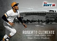 Roberto Clemente Stadium Heritage 2016 Topps BUNT