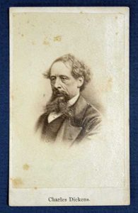CDV of Charles Dickens