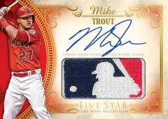 Mike Trout Topps 5-Star Autograph