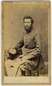 CDV of American Civil War soldier