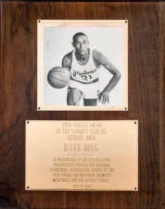 Dave Bing award