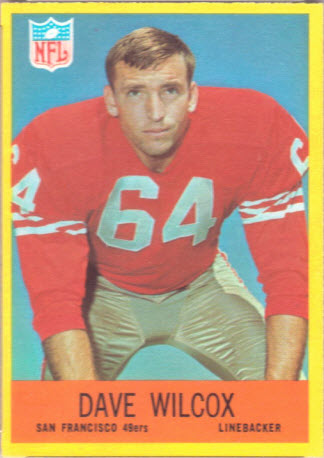 Dave Wilcox rookie card 49ers