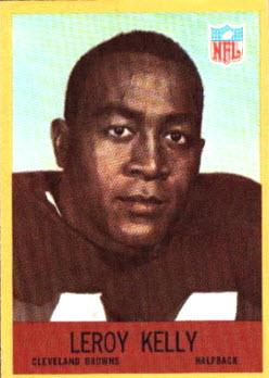 1967 Philadelphia Gum LeRoy Kelly rookie card