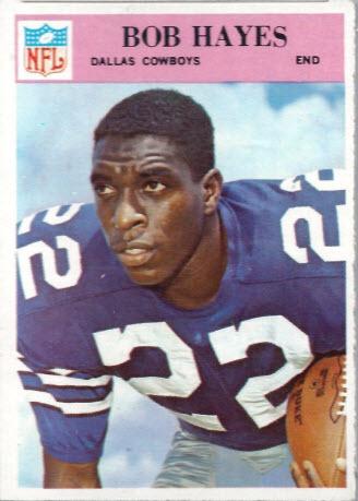Bob Hayes rookie card 1966