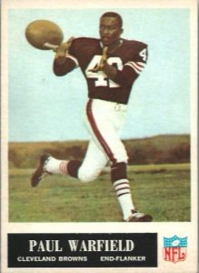 Paul Warfield rookie card