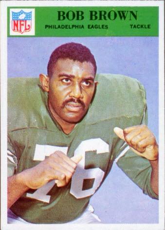 Bob Brown rookie card