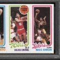 Larry Bird-Magic Johnson rookie card