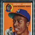 Hank Aaron rookie card PSA 9