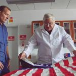 Sports Detectives Jim Craig flag