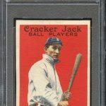 1914 Cracker Jack Ty Cobb PSA 8