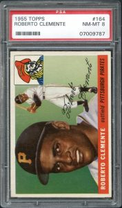 Roberto Clemente rookie card