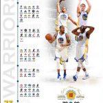73 wins Golden State Warriors calendar