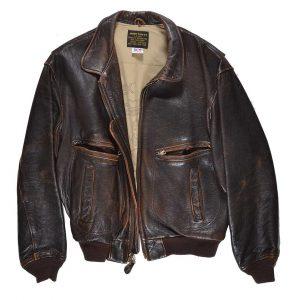Keith Olbermann ESPN2 debut leather bomber jacket