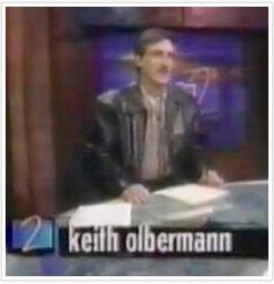 1993 Keith Olbermann leather jacket ESPN2