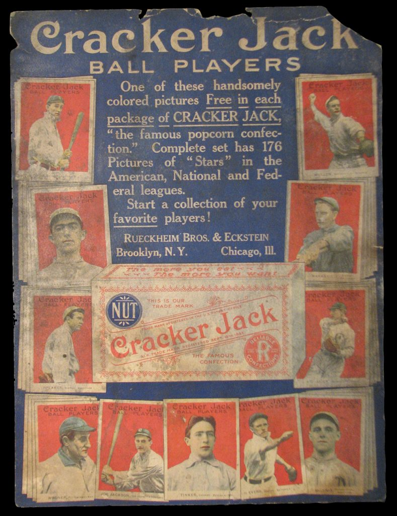 Cracker Jack advertising poster 1915