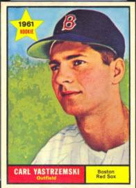 Yaz 1961 Topps card
