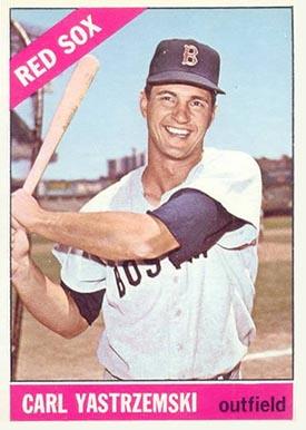 1966 Topps Yaz baseball card