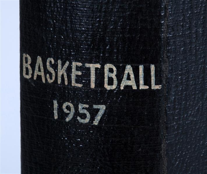 1957 Topps basketball binder