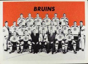 Topps Boston Bruins team 1965-66