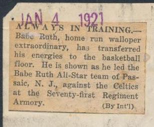 Babe Ruth Basketball
