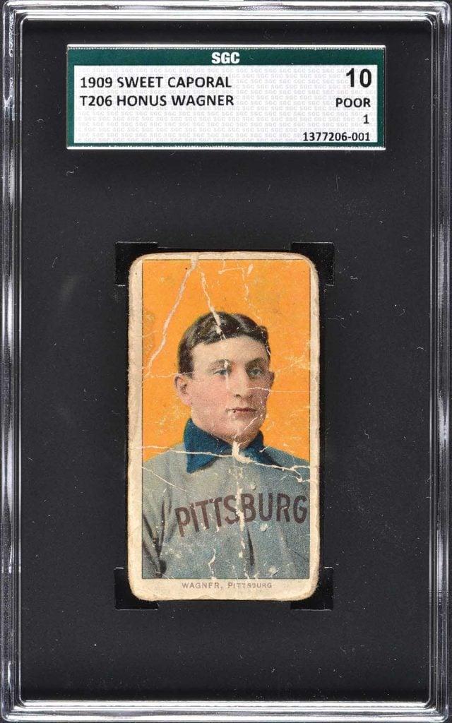 Honus Wagner card T206 SGC 10