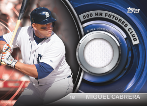 2016 Topps Update 500 Homers Future Club