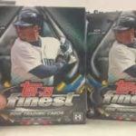 Topps Finest 2016 Baseball box