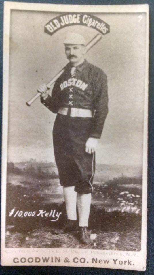 1887 Old Judge baseball cards
